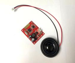 Universal Design Hoverboard Bluetooth Module Board with Spea