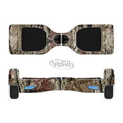 The Vibrant Real Woods Camouflage V2 Full-Body Wrap Skin Kit