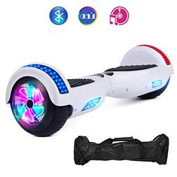 VEVELINE White Two-Wheel Self Hoverboard Balancing Electric