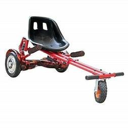 Worryfree Hoverkart With Shock Absorber For Hoverboard 6.5In