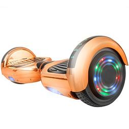 AOB SMART GO Z1Plus Chrome Self-Balancing Hoverboard w/Bluet